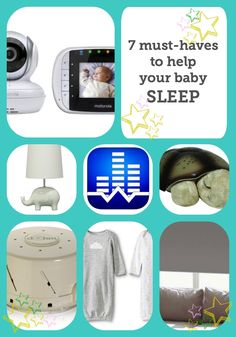This is one of the best lists we've seen on helpful products for getting your baby to sleep. The blogger also gives some great baby sleep advice, too.