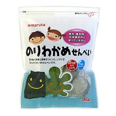 With cracked seaweed and vegetables without using sugar and slightly sweet rice crackers, mouthfeel is a soft and crisp texture. Use domestic wakame · glue · Tenkon radish.