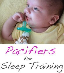 How and why to use pacifiers for baby sleep training
