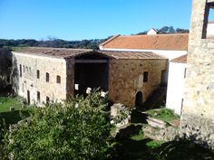Otra foto de la parte trasera del convento donde sin duda debió haber un hermoso y productivo huerto.