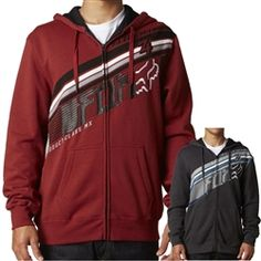 2013 Fox Racing Conclusion Zip Casual Motocross MX Apparel Insulated Hoody