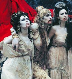 Image result for bram stoker's dracula brides Monica Bellucci