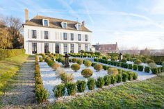 SEE THIS HOUSE: THE MODERN INSIDE OF AN OLD WORLD FRENCH CHATEAU!
