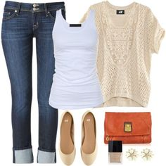 20 Casual Polyvore Outfits - Fashion Diva Design - Love the colours find more women fashion on www.misspool.com