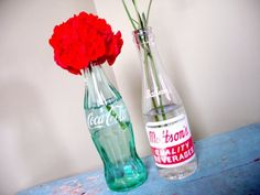 50's Party - centerpieces