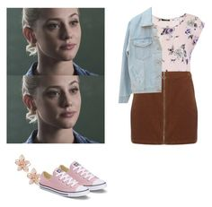 Betty Cooper - Riverdale by shadyannon on Polyvore featuring polyvore fashion style Dorothy Perkins Converse NAKAMOL clothing