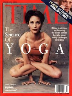 Beautiful Christy Turlington (I remember when this came out, close to the beginning of my yoga love?)