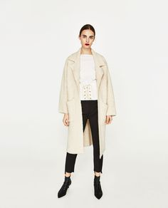 SOFT KNIT COAT-Cardigans-KNITWEAR-WOMAN | ZARA United States
