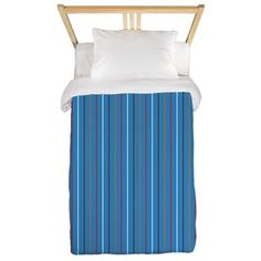 DesignerGal Designs: Vangogh Stripe Twin Duvet: A refreshing spin on the classic stripe! DesignerGal Designs All Rights Reserved. Bedding Collections, Pop Art, Duvet, Twins, Art Prints, Design, Gemini, Art Impressions, Art Pop
