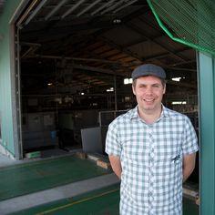 LieblingsTee founder visiting Japanese tea farm in Kagoshima area.