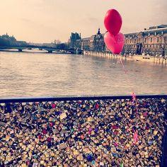 Add my lock to the Love Lock Bridge in Paris!