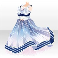 Discover recipes, home ideas, style inspiration and other ideas to try. Anime Outfits, Dress Outfits, Cool Outfits, Dress Up, Dress Drawing, Drawing Clothes, Chibi, Anime Dress, Frack