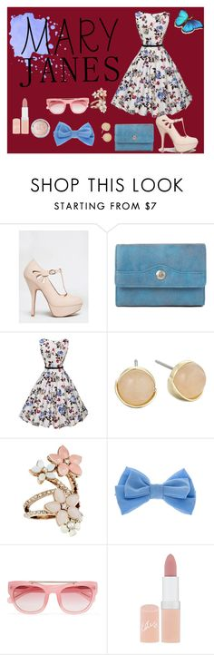 """""""#sweet Mary Janes"""" by sabinalisicic ❤ liked on Polyvore featuring Qupid, Mundi, Cole Haan, Accessorize, claire's, Erdem, Rimmel and sweetMaryJanes"""