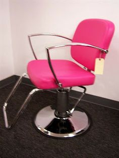 pink styling chair- don't know what I would do with it but I like it!!
