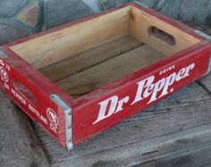 Caffeine Free Dr Pepper, Vintage Crates, Candle Containers, Candle Shop, Man Cave, Advertising, Sugar, Stuffed Peppers, Drinks