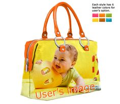 Newborn Photo Bags – upload your newborn's photo on bags   personalized and custom-made newborn gifts