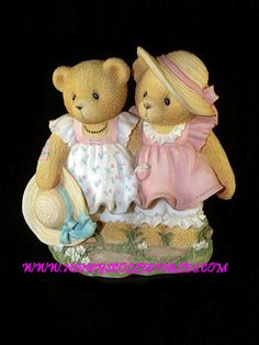 "Cherished Teddies - FAY AND ARLENE-OUR CHERISHED FAMILY-""THANKS FOR ALWAYS BEING BY MY SIDE""(RETIRED - 9/2004)-Reg.No.8H4/599, 1998, #476684"