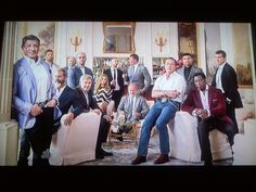 Don't Mess With Me or I'll Call All Of My 'Movie Uncles'..Uncle Sylvester, Uncle Mel, Uncle Harrison, Uncle Jason, Uncle Kelsey, Uncle Dolph, Uncle Arnold, Uncle Wesley, Uncle Antonio, ...Uncle Bruce couldn't make it! (Courtesy Of Vanity Fair 8/2014 on NBC)