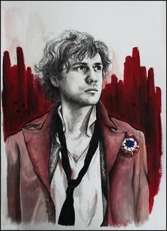 """""""Enjolras was a charming young man, who was capable of being terrible"""""""