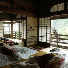 (1) Página Inicial / Twitter Japan Architecture, Interior Architecture, Interior And Exterior, Interior Design, Sustainable Architecture, Residential Architecture, Japanese Style House, Traditional Japanese House, Japanese Homes