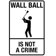 wall ball is not a crime --- Visit the following link for more info…