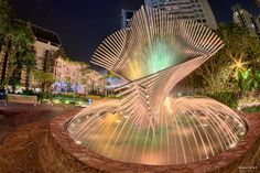 fountain sculpture of federal
