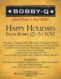 Bobby-Q, formerly known as Bobby McGee's has been serving the valley since 2005. We have a number of options for service including delivery and full service catering making it possible to serve groups and budgets of all sizes. Bobby-Q is not only famous for its delicious food, but also its