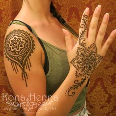 Organic Henna Products.  Professional Henna Studio. KonaHenna.com inspired by @hennalounge and @hennatrails