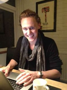 4) While you are writting | The Ultimate Cure For Depression By Tom Hiddleston