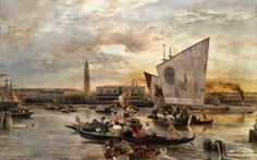 Oswald Achenbach | Düsseldorf school of painting | Tutt'Art@ | Pittura…