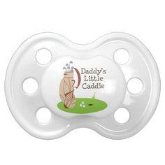 Daddy's Little Caddie Baby Pacifier