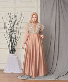 Kebaya Hijab, Kebaya Dress, Dress Pesta, Kebaya Muslim, Muslim Dress, Dress Brukat, Hijab Style Dress, Casual Hijab Outfit, Hijab Chic