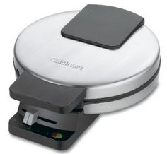 Cuisinart WMR-CA Round Classic Waffle Maker Horticulture, Ss, Cloud, Waffles, Comedy, Pizza, Kitchen Appliances, Cooking, Beach