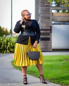 Trendy Plus Size Fashion, Plus Size Womens Clothing, Plus Size Outfits, Plus Fashion, Fashion Trends, Looks Plus Size, Look Plus, Plus Size Ivory Dresses, Plus Size Kleidung