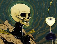 "Check out new work on my @Behance portfolio: ""Muerte(Transformación)"" http://on.be.net/1LXOMo8"