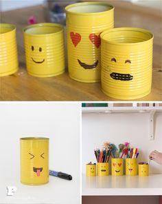 Emoji pencil holder 5