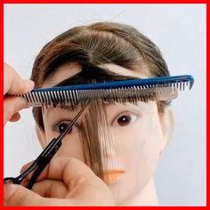 haare mittellang 💇♀️💇♀️💇♀️ 44+ Haare Mittellang 2020 Hair Cutting Videos, Hair Cutting Techniques, Hair Videos, Hair Up Styles, Medium Hair Styles, Natural Hair Styles, Diy Haircut, Haircut Bangs, Bangs Short Hair