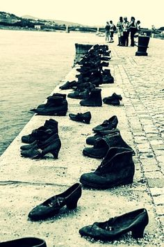 "Very sad, touching and emotional is the ""shoe memorial"" at the Danube promenade. The history about the Budapest Jews is very sad, because the Hungarian fascists, the members of the Arrow Cross Party, killed thousands of Jews during the siege of Budapest."