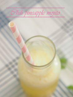 Chili Pineapple Mojito