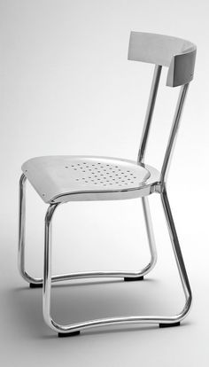 Gio Ponti Montecatini chair designed in 1935 for the first Montecatini Building in Milan