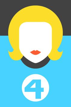 Re Vision Pop Culture Icons by Forma  Co with the Invisible Woman one of Marvel comics Fantastic Four