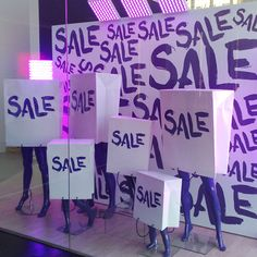 Everything musy go! off price listed om any item purchases before the end of July! Christmas in July sale! Pop Design, Display Design, Store Design, Sale Signage, Retail Signage, Shop Window Displays, Store Displays, Retail Displays, Tienda Chocolate