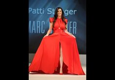 Patti Stanger in Marc Bouwer - The Heart Truth's Red Dress Collection 2012 Fashion Show