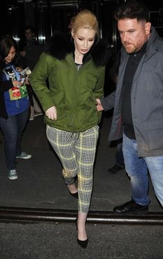 Iggy Azalea Photos - Celebrities Spotted Out In New York City - Zimbio