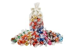 Lindt Build Your Own Bag of Truffles--smaller quantities. Other variations on the truffles page of the website.