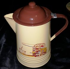 I have recently acquired several pieces of Monterrey Western Ware Enamelware…