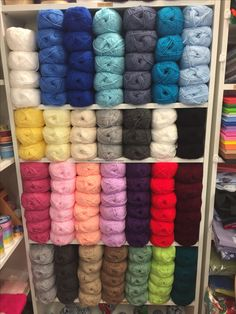 New wool stock