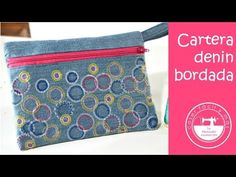Ideas para reciclar - YouTube Wallet Pattern, Denim Bag, Texans, Repurposed, Purses And Bags, Coin Purse, Quilts, Sewing, Crochet