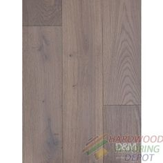 "ROYAL OAK COLLECTION, URBAN GRAY DMSR-08, 7.5"" WIDE, LONG PLANK, KLUMPP OIL FINISHED HARDWOOD FLOORING"