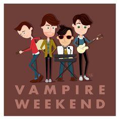 Vampire Weekend - such a cute photo!
